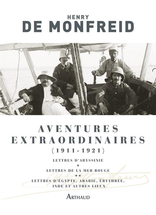 AVENTURES EXTRAORDINAIRES 1911-1921