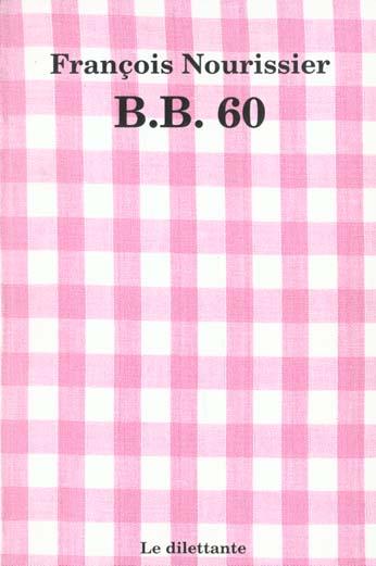 B.B. 60