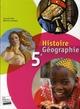Histoire-géographie ; 5ème ; livre de l'élève format compact
