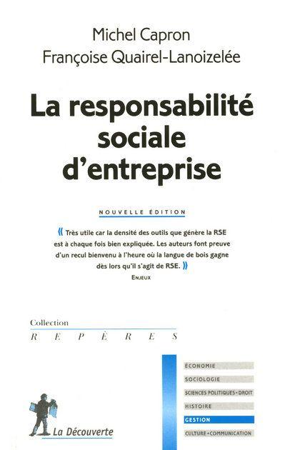 La Responsabilite Sociale D'Entreprise
