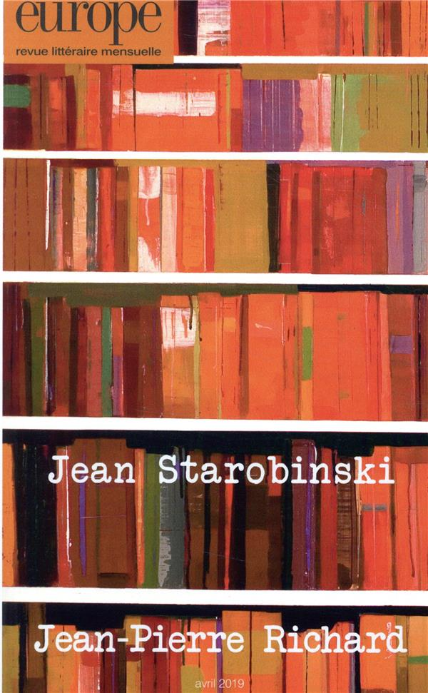 EUROPE 1080 : JEAN STAROBINSKI / JEAN-PIERRE RICHARD