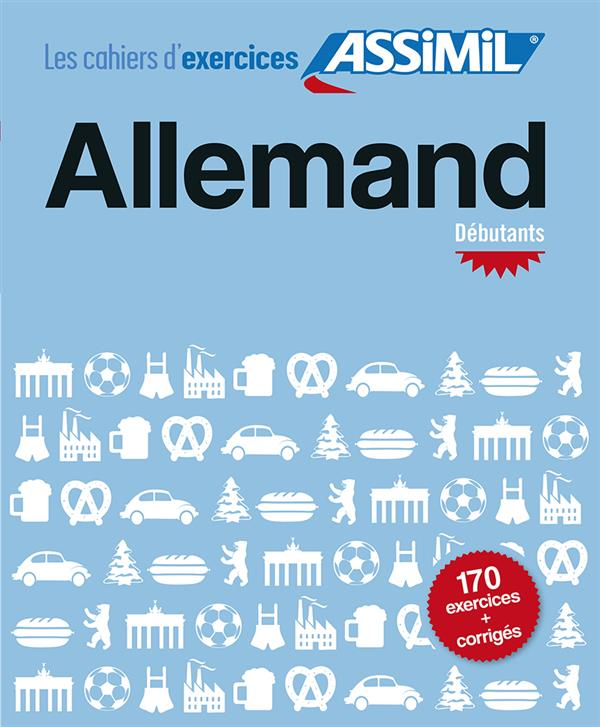 Cahier exercices allemand debut