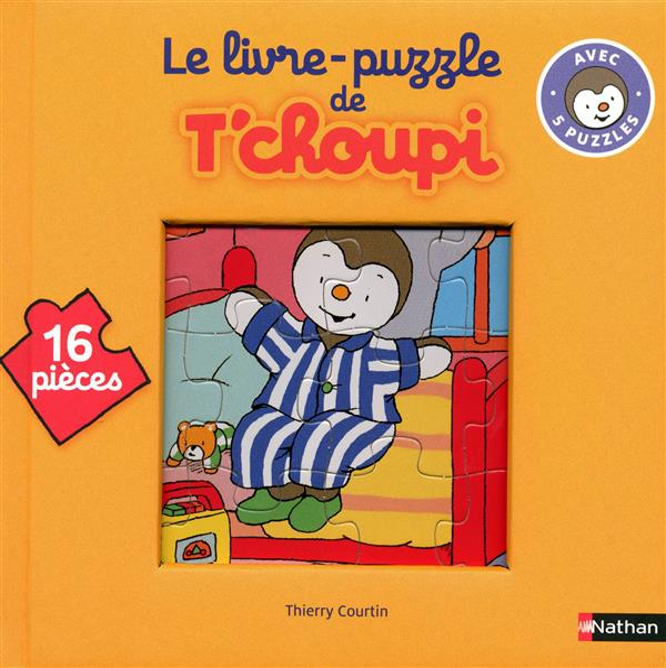 Livre Puzzle T'Choupi ; 16 Pieces