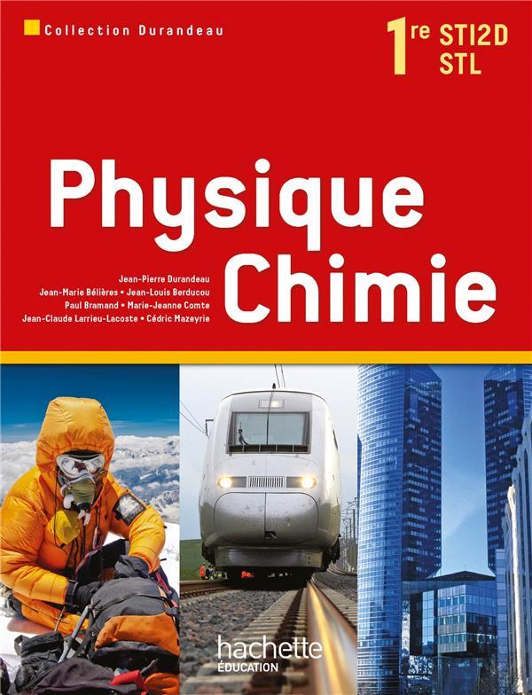 Physique Chimie ; 1ere Sti2d ; Livre De L'Eleve