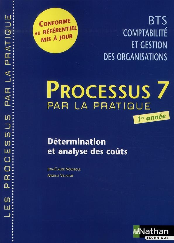 Processus 7 Bts 1 Cgo Determination Et Analyse Des Couts -Les Processus/Pratique- Eleve 2008