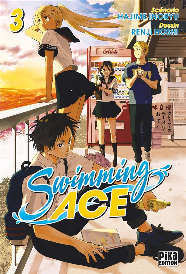 Swimming ace | Inoryu, Hajime. Auteur
