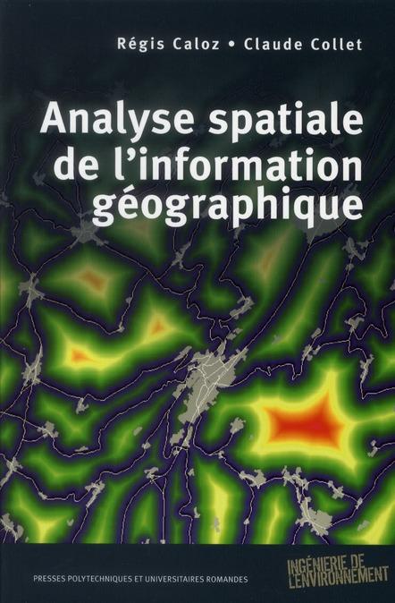 Analyse Spatiale De L'Information Geographique