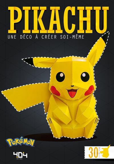 Pikachu ; une déco à créer soi-même