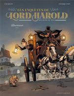 Couverture de Les Enquêtes de Lord Harold, douzieme du nom T1 : Blackchurch