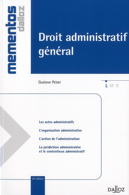 Droit Administratif General (Edition 2011)