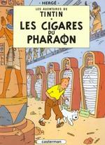 Aventures de Tintin (Les) [Bande dessinée] [Série] (t.04) : cigares du Pharaon (Les)