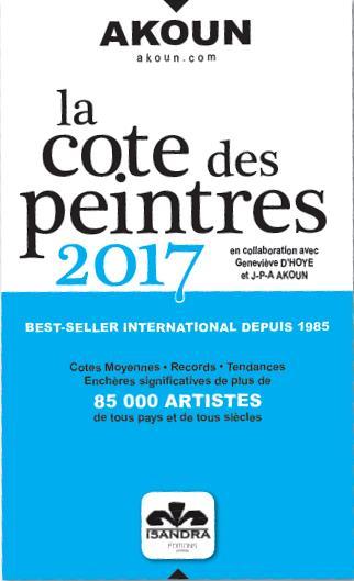 La cote des peintres (2017)
