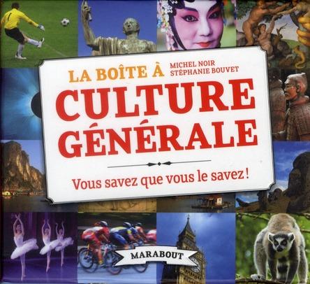 La Boite A Culture Generale
