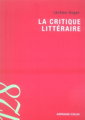 La Critique Litteraire