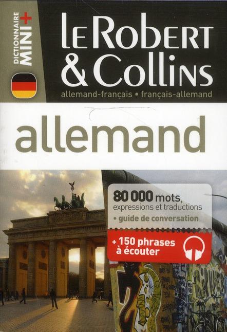 Le Robert & Collins ; Mini +; Allemand-Francais / Francais-Allemand
