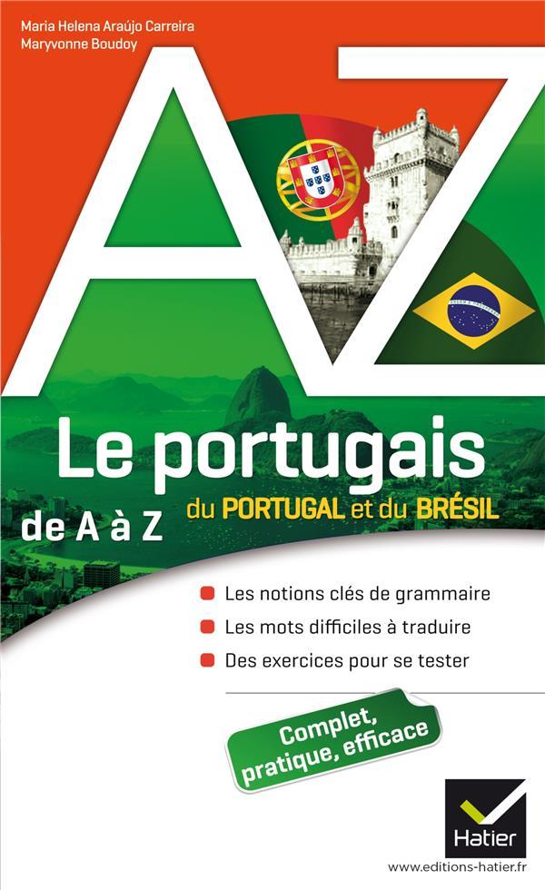 Le Portugais Du Portugal Et Du Bresil De A A Z