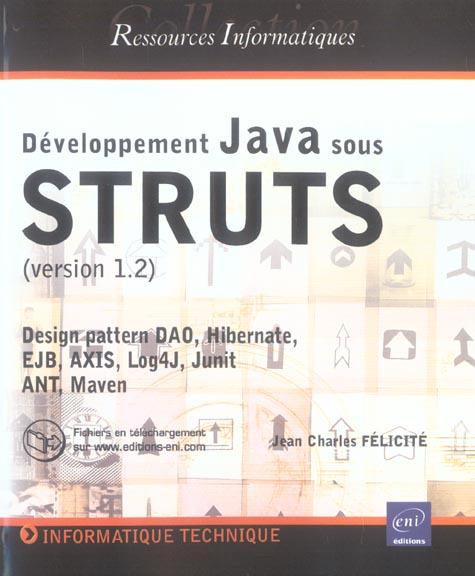 Developpement Java 2 Sous Struts (Version 1.2)
