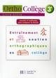 Orthocollège ; français ; 3ème ; livre de l'élève (édition 2008)