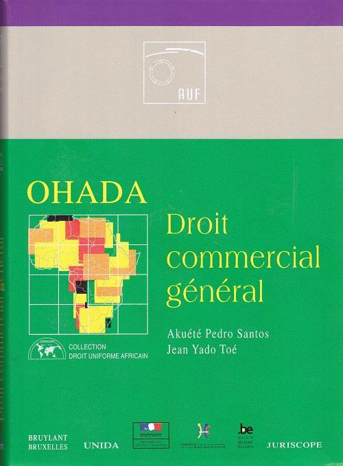 Ohada ; Droit Commercial General