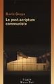 LE POST-SCRIPTUM COMMUNISTE
