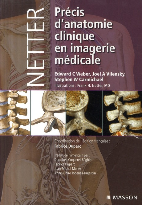 Netter ; Precis D'Anatomie Clinique Et En Imagerie Medicale