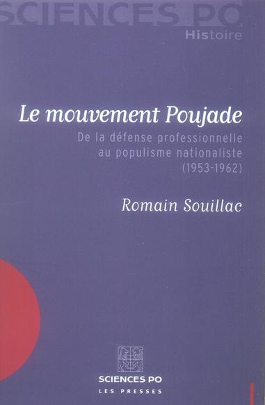 LE MOUVEMENT POUJADE 1953-1962