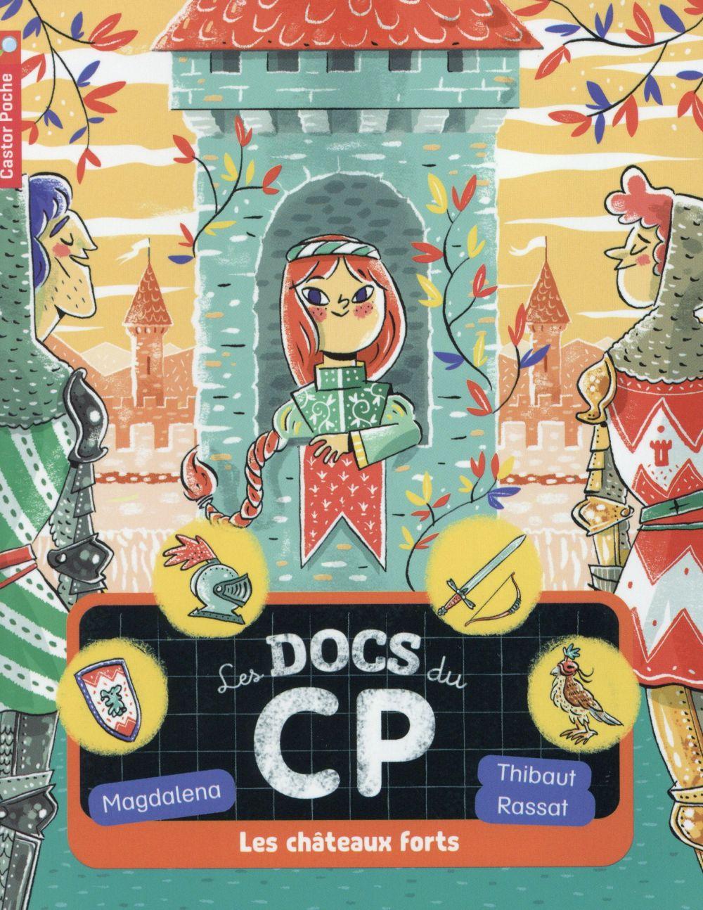 Les Docs Du Cp T.4 ; Les Chateaux Forts