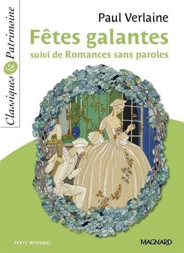 Fêtes galantes ; romances sans paroles