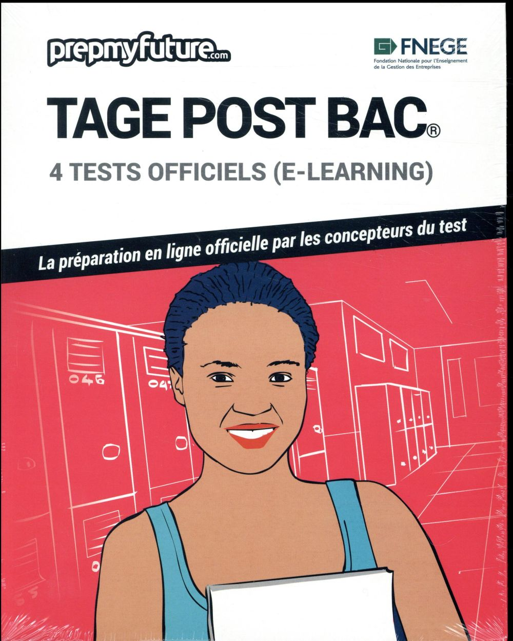 TAGE® post Bac ; 4 tests officiels (e-learning)