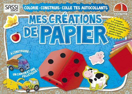Mes Creations De Papier T.1