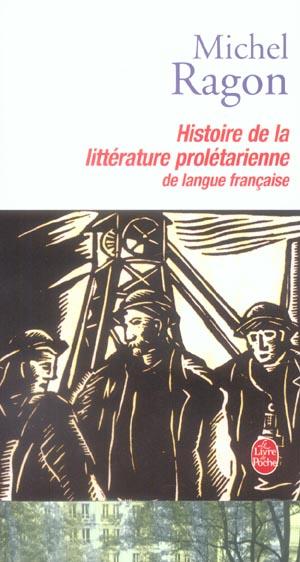 HISTOIRE DE LA LITTERATURE PROLETARIENNE