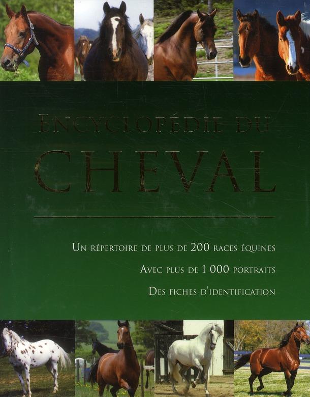 Encyclopedie Du Cheval