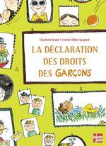 la déclaration des droits des garçons - Elisabeth Brami, Estelle  Billon-Spagnol