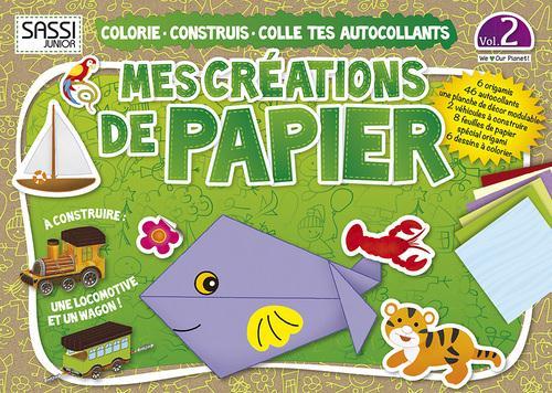 Mes Creations De Papier T.2