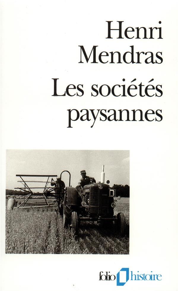 LES SOCIETES PAYSANNES