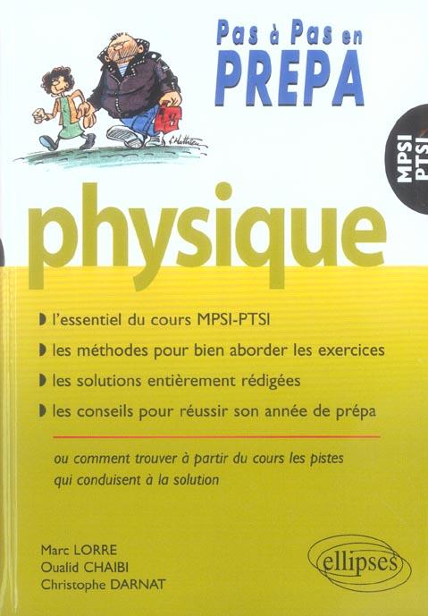 Sciences Physiques 1ere Annee Mpsi