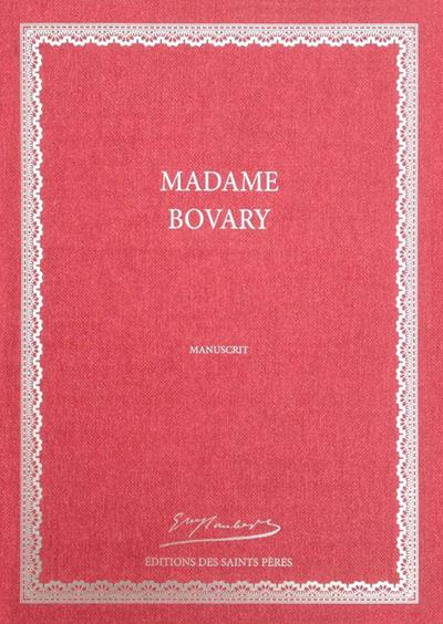 Madame bovary, manuscrit