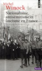 Couverture de Nationalisme, antisémitisme et fascisme en France