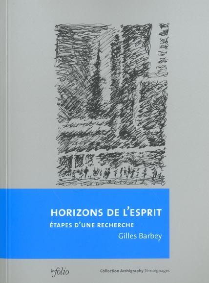 HORIZONS DE L'ESPRIT