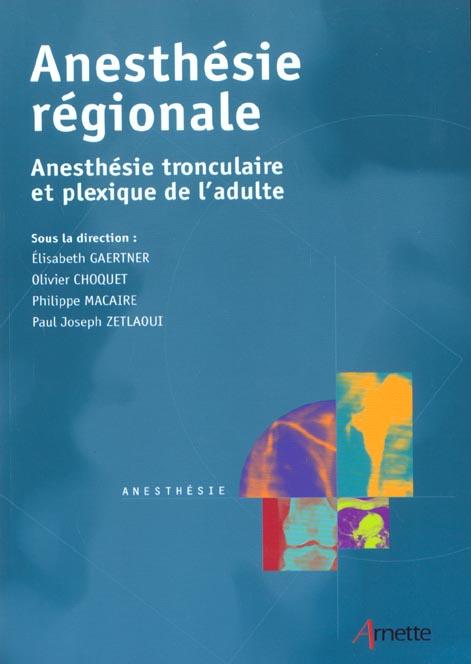 Anesthesie Regionale