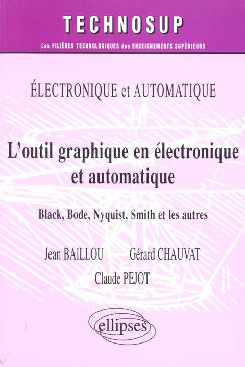Outil Graphique En Electronique Et Automatique Black Bode Nyquist Smith Et Les Autres