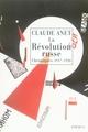 LA REVOLUTION RUSSE : CHRONIQUES 1917-1920