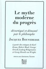 Couverture de Mythe Moderne Du Progres(Le)
