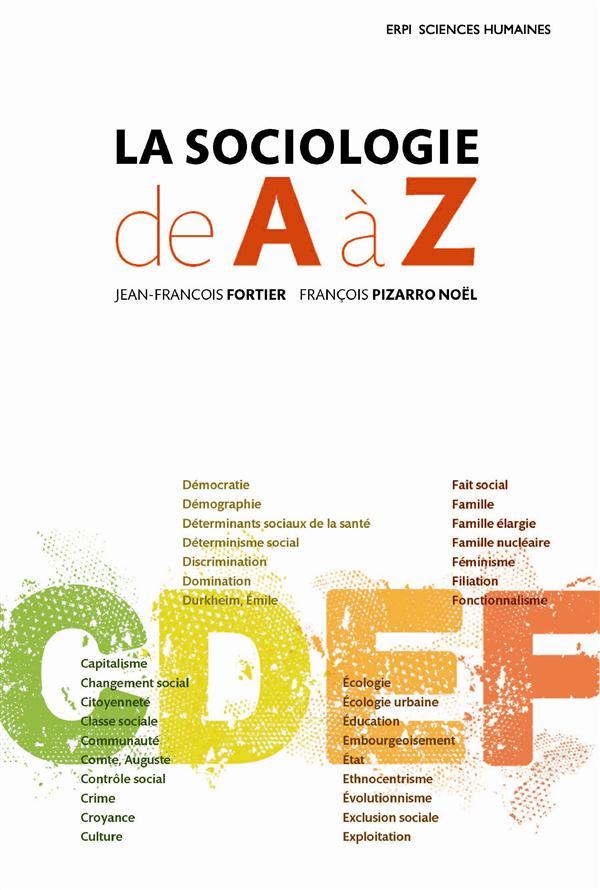 La Sociologie De A A Z