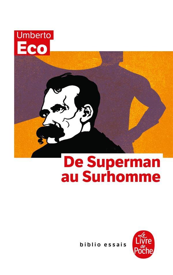 Du Superman Au Surhomme
