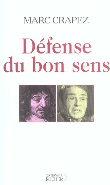 Defense Du Bon Sens
