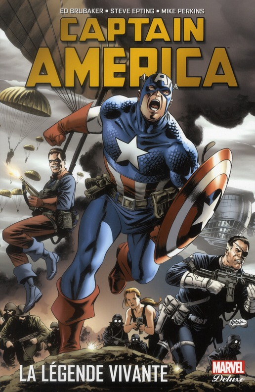 Captain America ; La Legende Vivante
