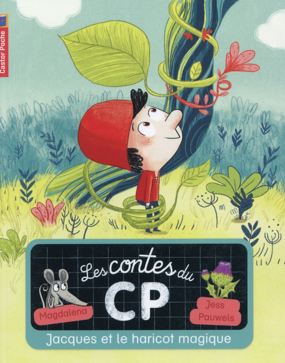 Les Contes Du Cp T.8 ; Jacques Et Le Haricot Magique
