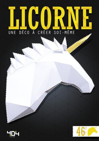Licorne ; une déco à créer soi-même