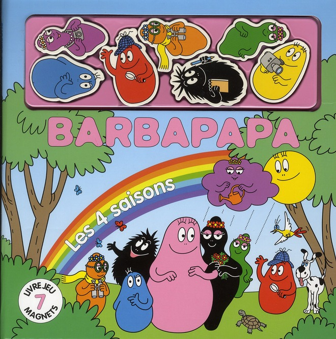 Barbapapa; Livre Magnets ; Les 4 Saisons